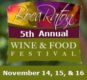 Boca Raton Wine and Food Festival A Culinary Affair 2014